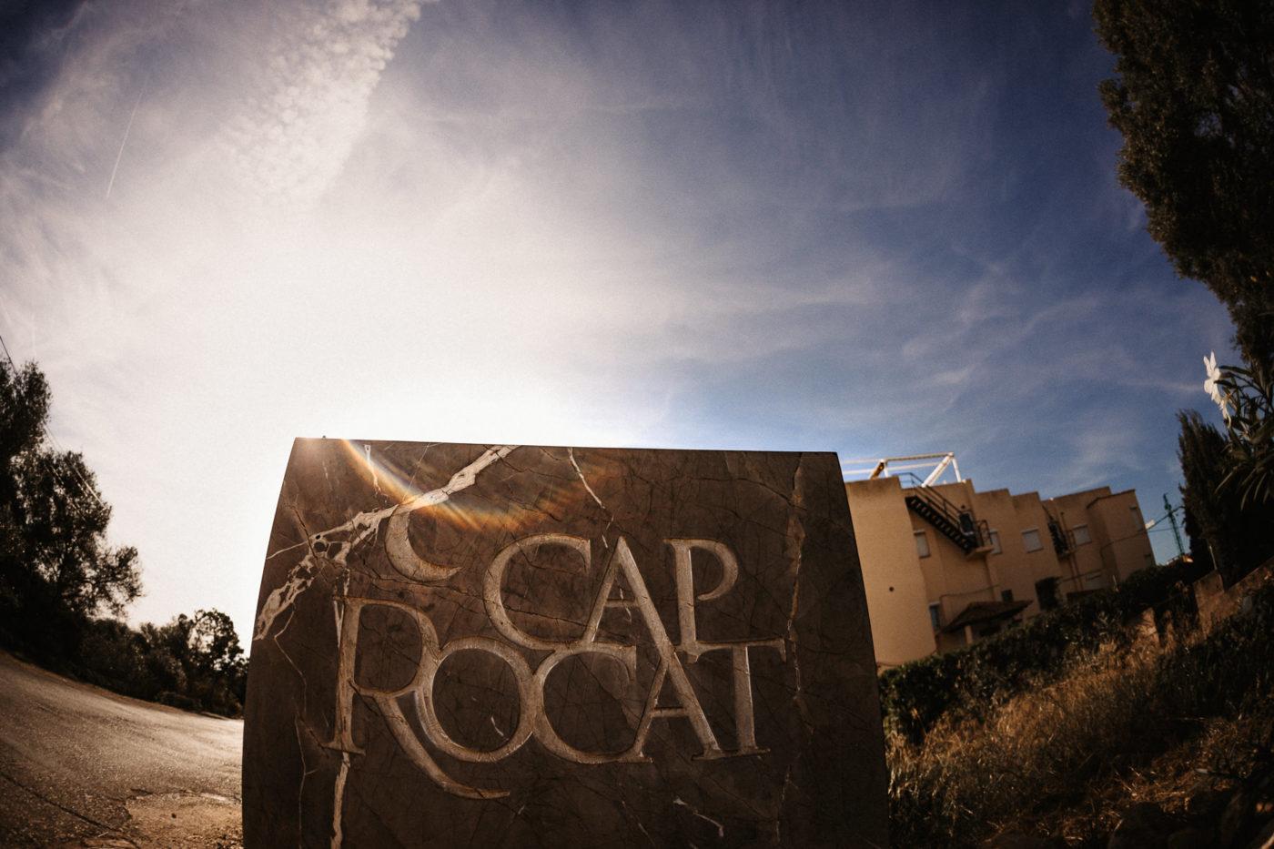 Eingang zur Hochzeitslocation Cap Rocat