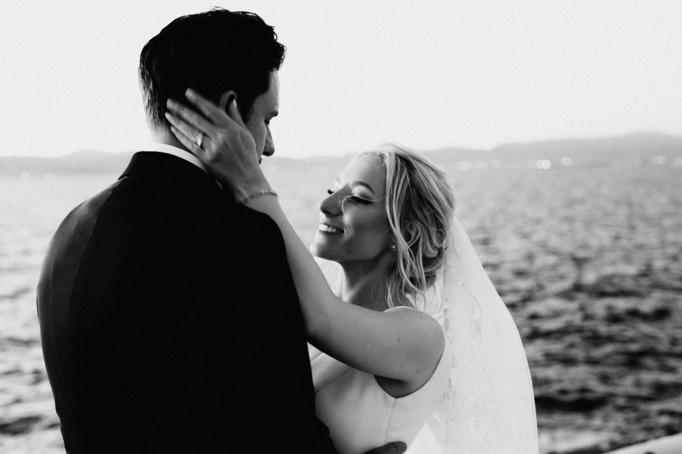 Brautpaarfoto im Cap Rocat