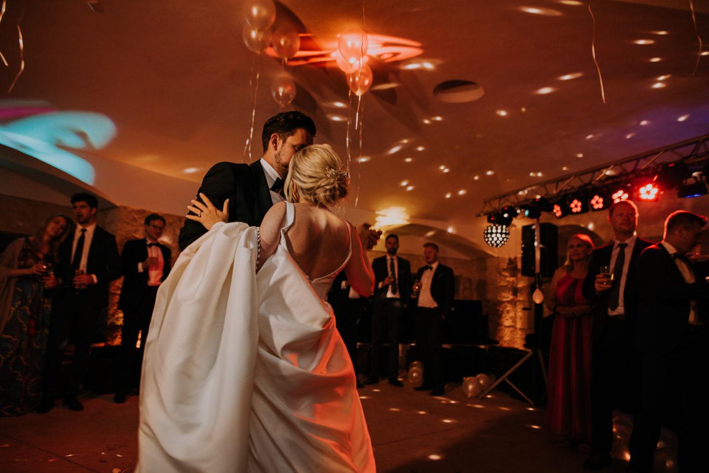 Die Hochzeitsparty im Cap Rocat beginnt