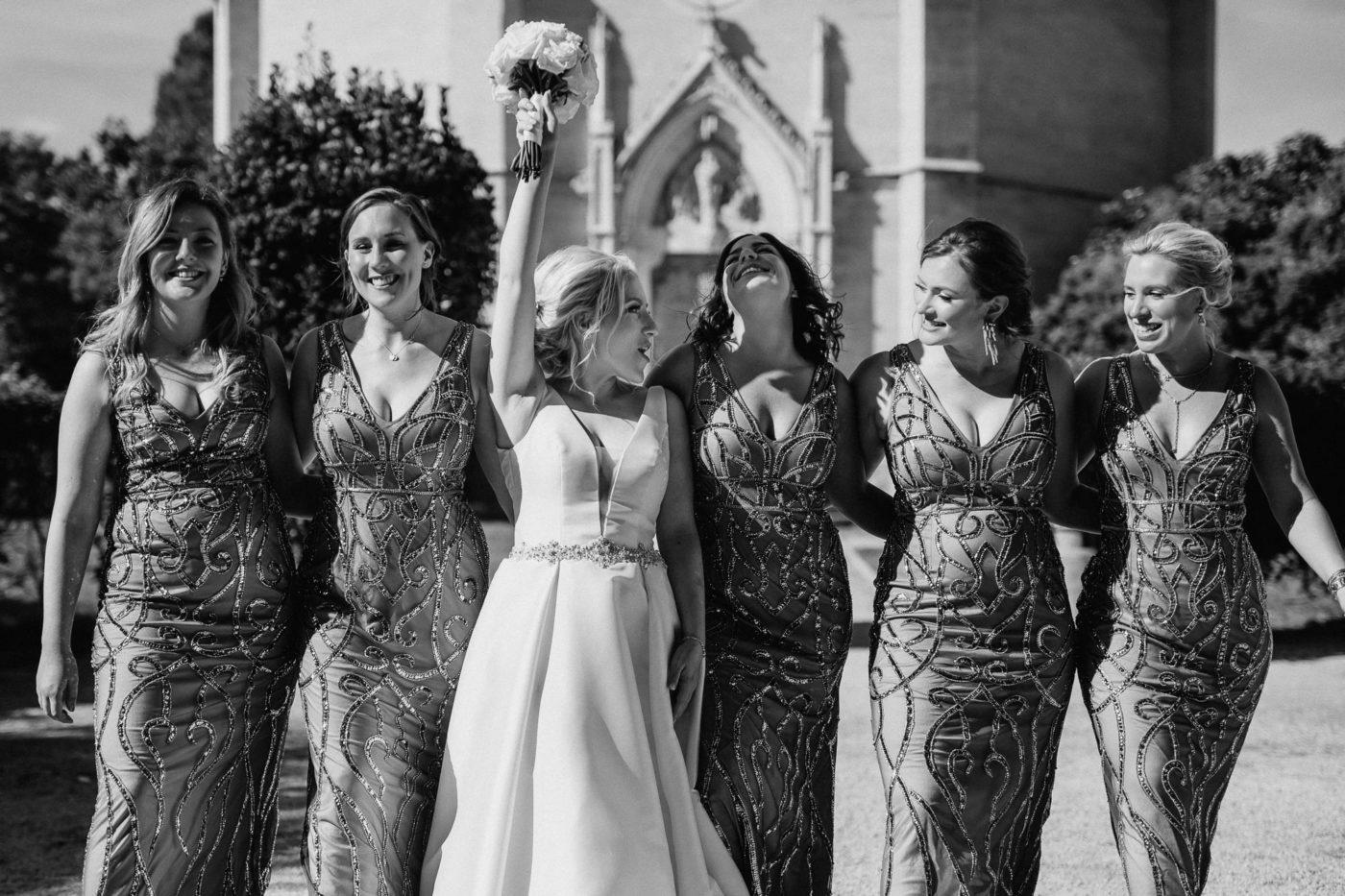 Die Braut und ihre Mädels